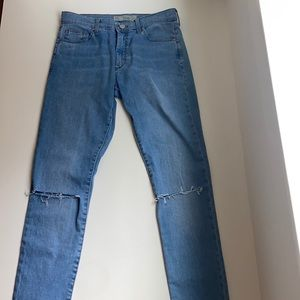 Topshop Leigh light wash jeans